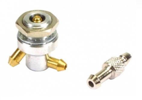 Kwik-fill fueling valve for Glow fuel