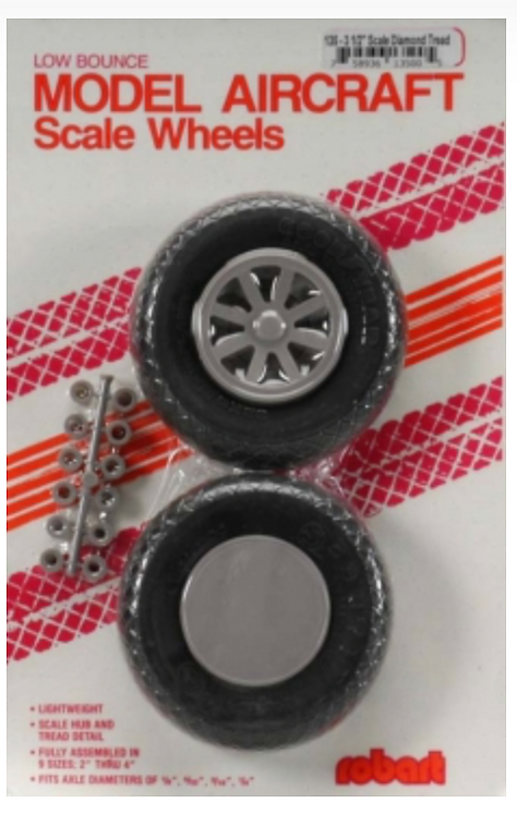 Diamond tread wheel 89mm