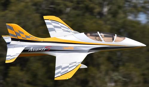 Avanti S 80mm Sport Jet PNP Yellow