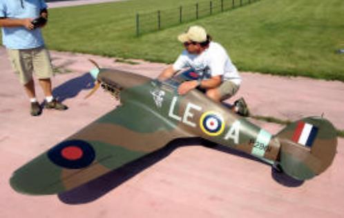 Hawker Hurricane MK II 1/4 Short kit