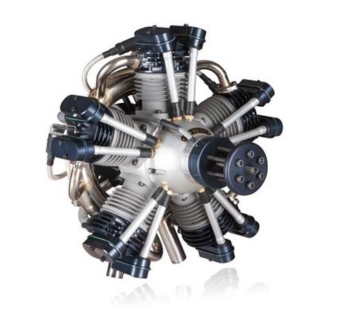 Valach Motors VM R5-250 radial engine