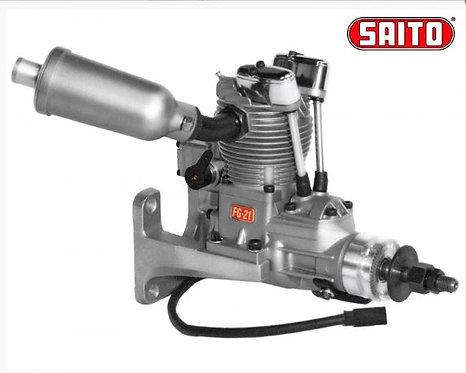 Saito FG-21 4-tahti bensiini moottori