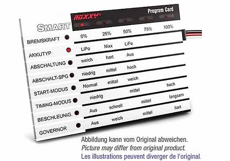 ROXXY Smart ohjelmointi kortti ENG