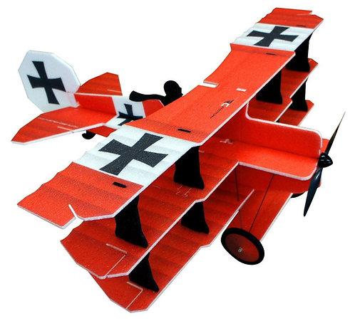 RC-Factory Crack Fokker DR. 1 Red Baron