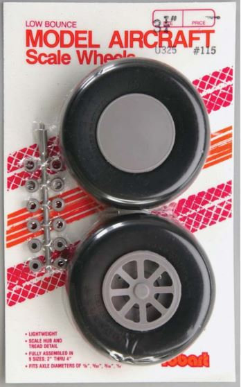 Robart Straight tread wheels 83mm
