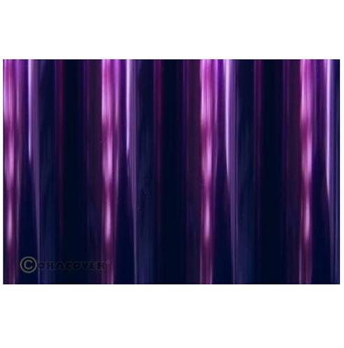 ORACOVER 10m transparent blue-purple