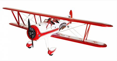 Red Baron Pizza Squadron Stearman 20cc Gas ARF