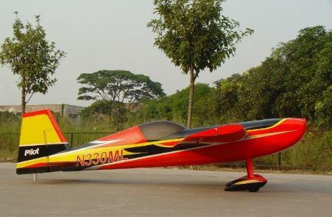 "Extra 330SC 107"" ARF Red/Yellow/Black"