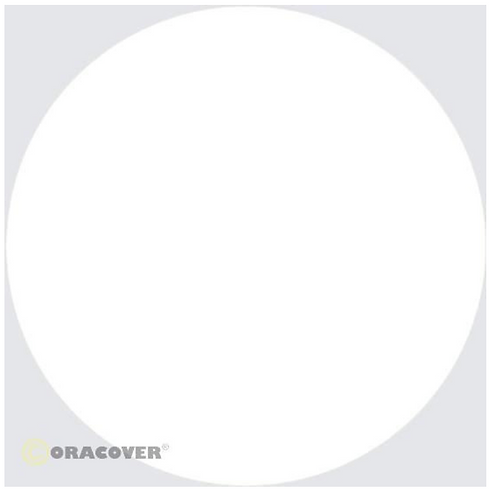 ORACOVER 10m white