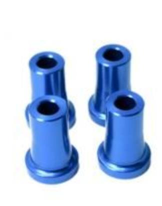 M6 stand off 25mm 4kpl sininen