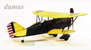 Curtiss P-6E Hawk 445mm balsa kit
