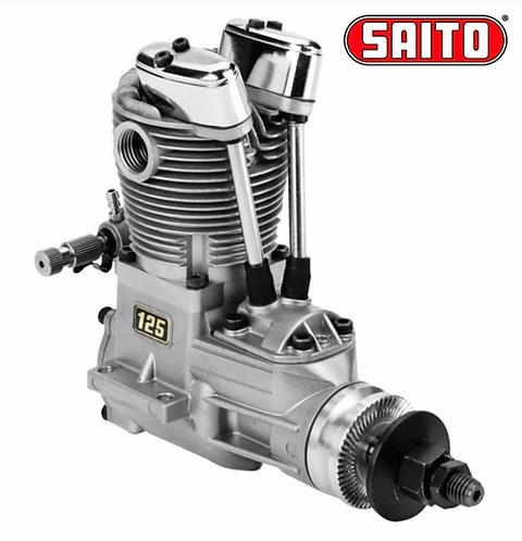 Saito FA-125A 20,5cc 4-stroke Nitro Engine