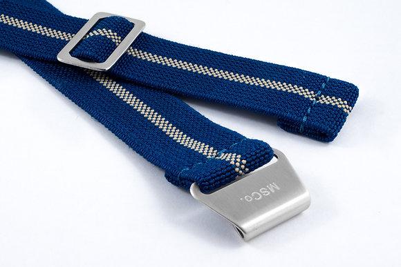 Premium Elastic - Blue & Beige