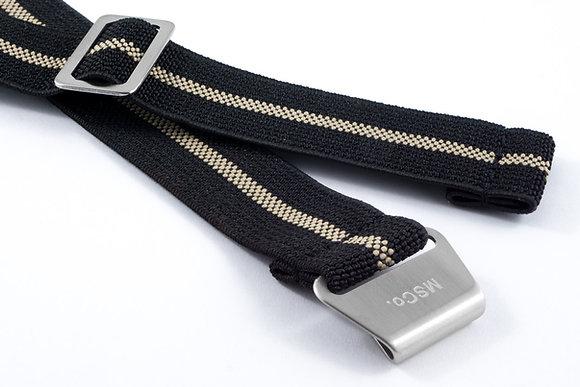 Premium Elastic - Black & Beige