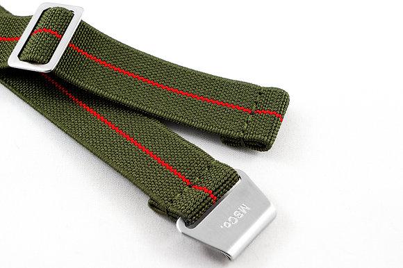 Premium Elastic - Green & Red
