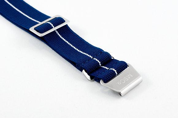 Premium Elastic - Blue & White