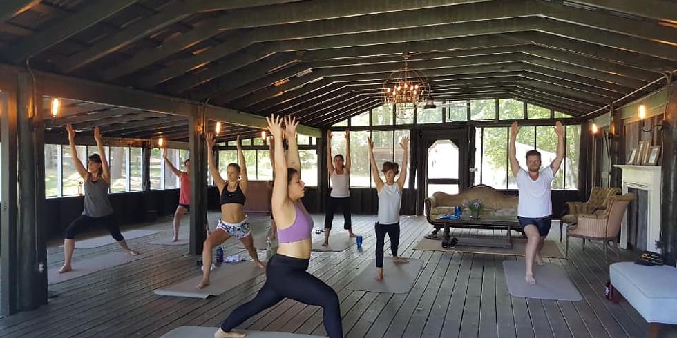 Yoga in the Barn