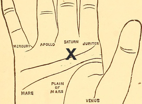The Mount of Saturn in Palmistry