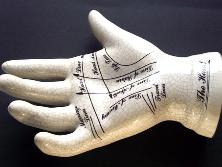 Palm reading lines of hand