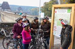 Radtour am Möhnesee