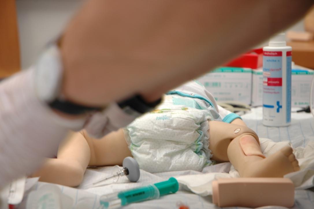 Simulation Baby – PALS Kurs