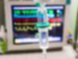 Überwachung EKG und i.V. Infusion