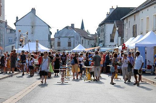 Bar et lieu de vie du festival