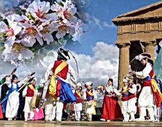Agrigento-danze-per-la-Sagra-del-Mandorl