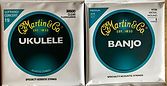 Martin & Co Guitar Strings. Banjo Ukulele