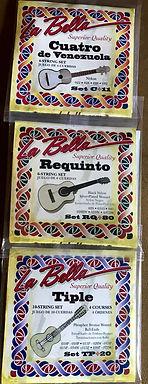 La Bella Strings. Tipe Requinto Cuatro de Venezuela