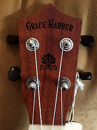 Grace Harbor Ukulele Headstock