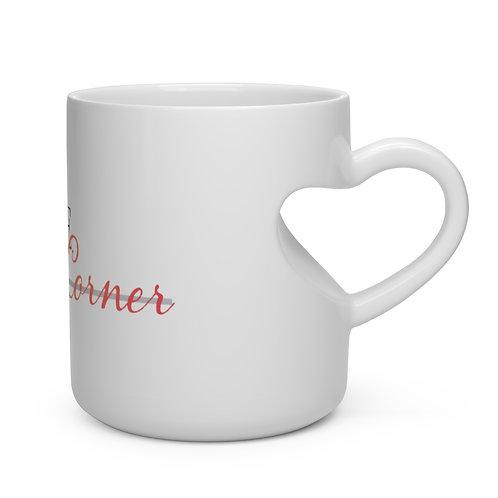 Practice Heart Shape Mug