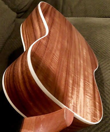 Ukelele exotic wood