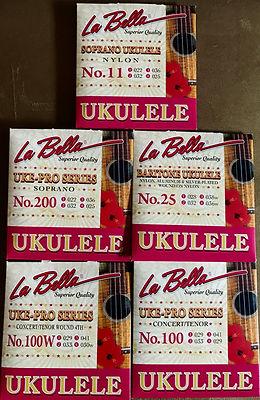 La Bella UKE strings