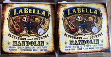 La Bella Mandolin Strings. Bluegrass and Country