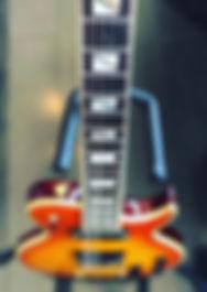 Orangeburst Aria LP