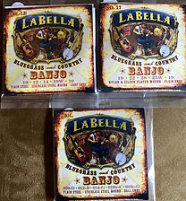 La Bella Banjo Strings.