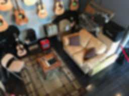 Guitar48 arial view of lounge with chess set