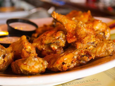 Wings in our signature sauce.