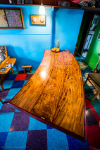 Curved Dining Table