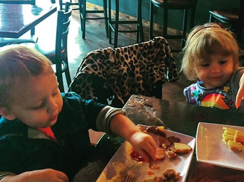 Kids eat free every Monday!