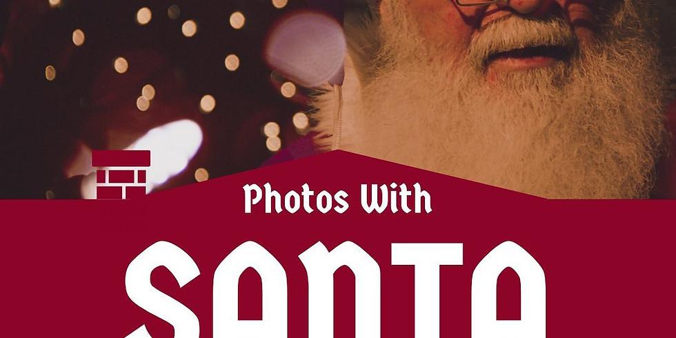 Santa at the Snug