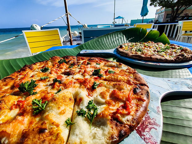 World Famous Lobster Pizza