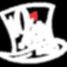 10:Six Hat Logo White Transparent.png