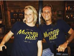Shirts courtesy of BobbyK's Boutique next door.