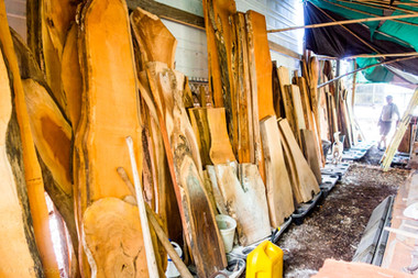 Key West Wood Slabs For Sale