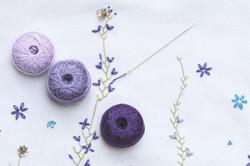 Collection de fil Violet