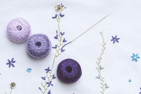 Purple Yarn Collection