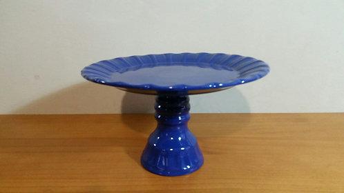 Prato suspenso azul escuro - G