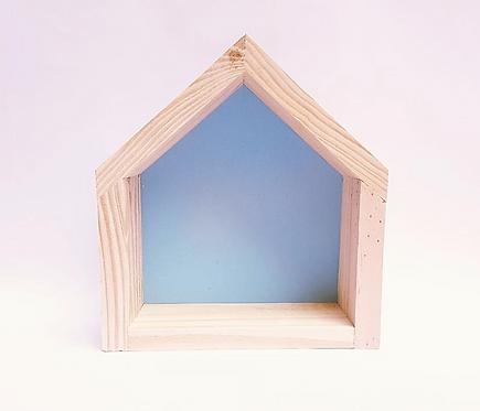 Nicho casinha azul